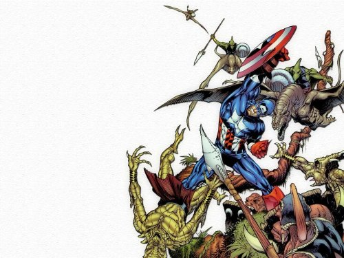 Captain America Vs Reptile People