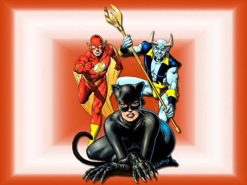 Catwoman – Flash – Blue Devil