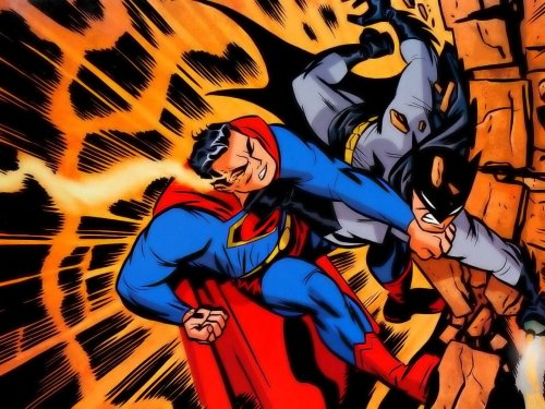 Classic Superman Vs Batman