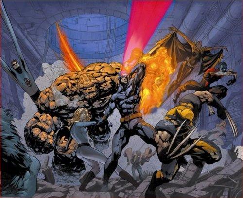 Fantastic Four And X-Men
