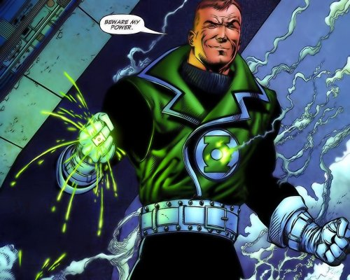 Green Lantern – Beware my power – Guy Gardner