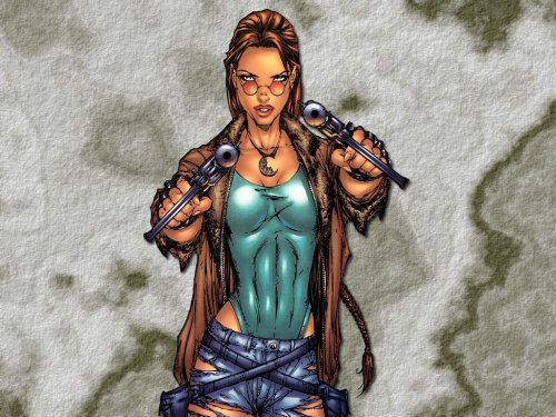 Lara Croft – Twin Pistols