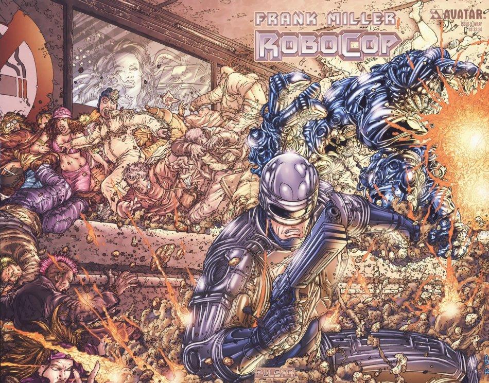 Robo Cop 5 Cover
