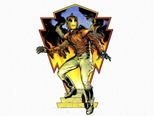 Rocketeer Flames