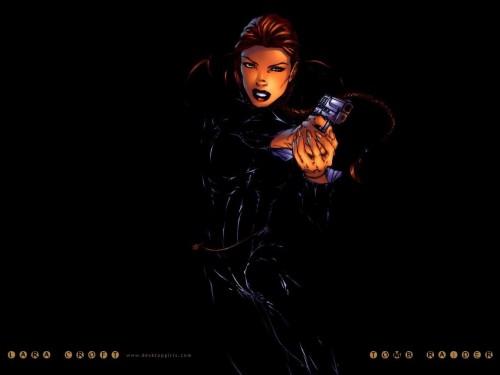 Tomb Raider in Black