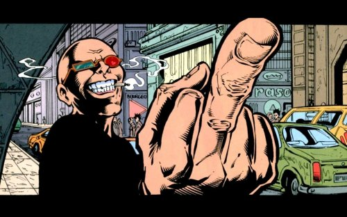 transmetropolitan dude flicking you off