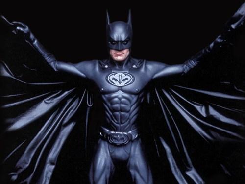 Batman Spreads His Wings