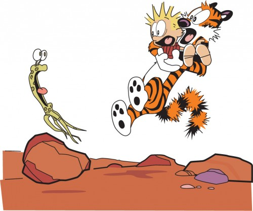 Calvin And Hobbes vs Alien