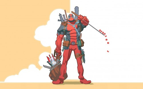 Deadpool's Drippling Sword