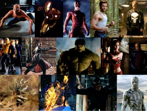 Marvels Movie Characters