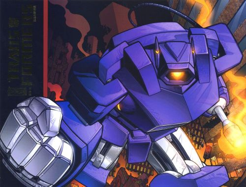 Shockwave Has An Angry Fist