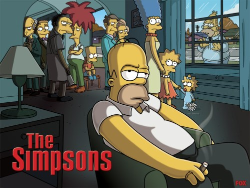 Simpsons – Sopranos Rip Off