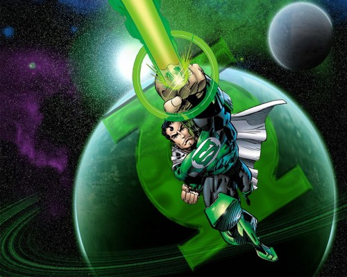 Superman is a green lantern