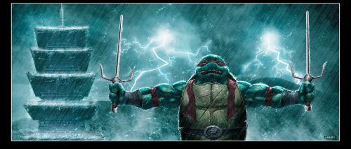 TMNT – Ralph in the rain