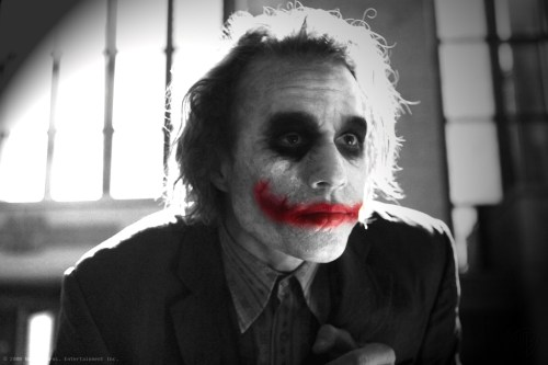 The Joker – Black and White