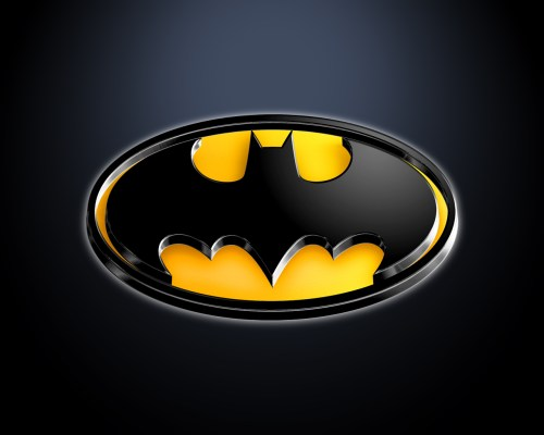 batman logo shiney