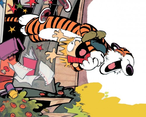 calvin and hobbes – after school surprise