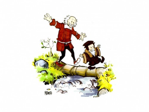 calvin and hobbes origins
