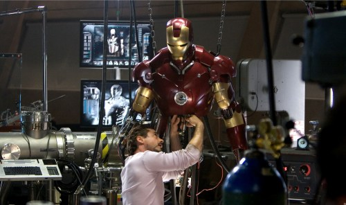 iron man – suit work