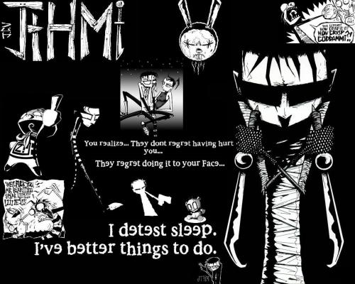 johnny the homicidal maniac – i detest sleep