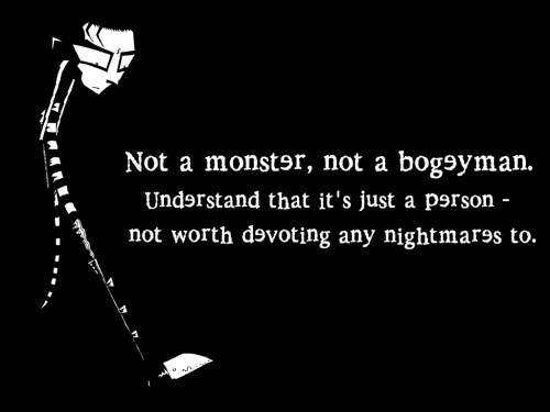 johnny the homicidal maniac – not a monster