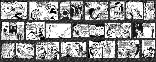 johnny the homicidal maniac – panels