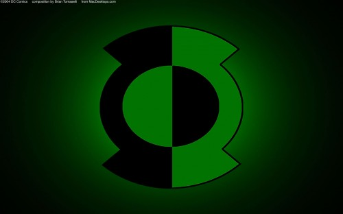 new green lantern logo