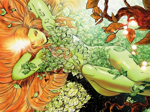 poison ivy on her back