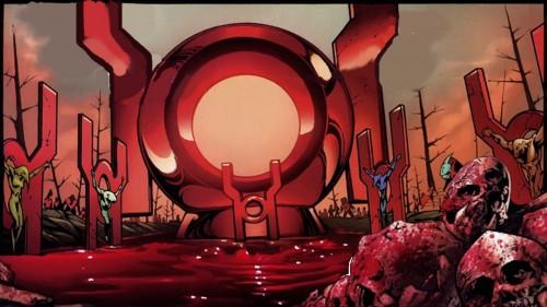 red lantern planet