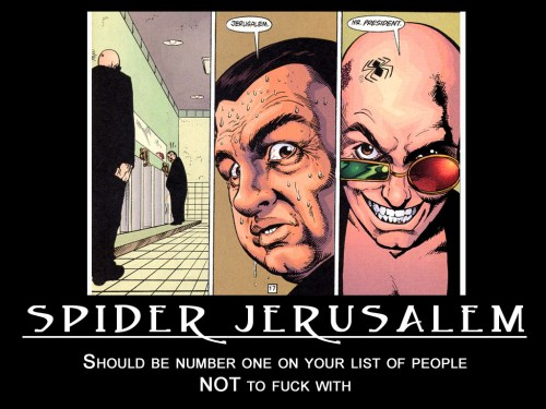 spider jerusalem number one to not fuck with