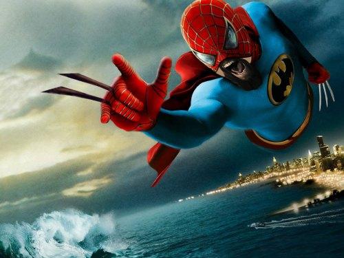 super spider 300 wolver bat man