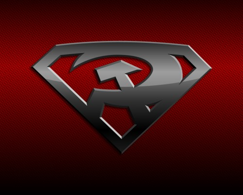 superman – red son logo