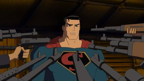 superman vs guns