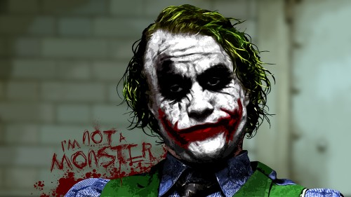 the joker – I'm not a monster