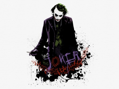 the joker- bad laugh