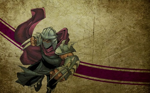 tmnt – shredder