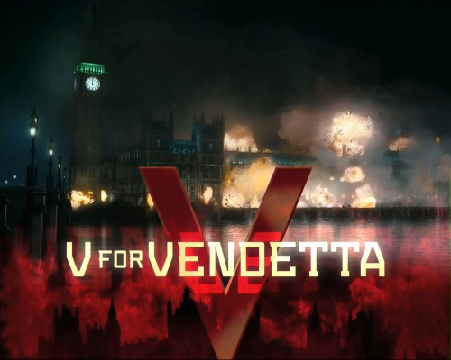 v for vendetta – the final explosion