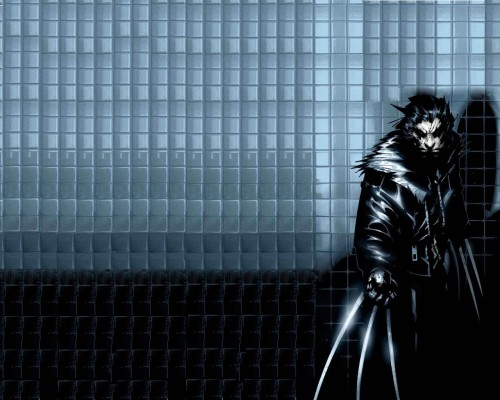 wolverine wallpaper tiles