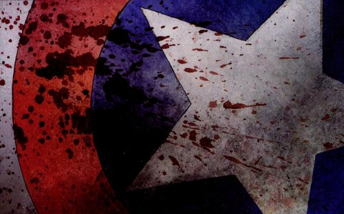 captain america – splatter
