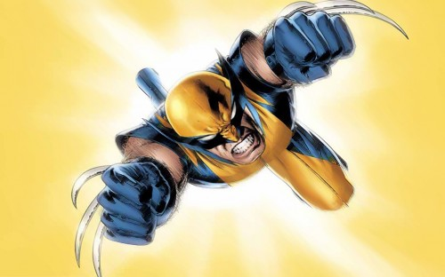 wolverine jumping