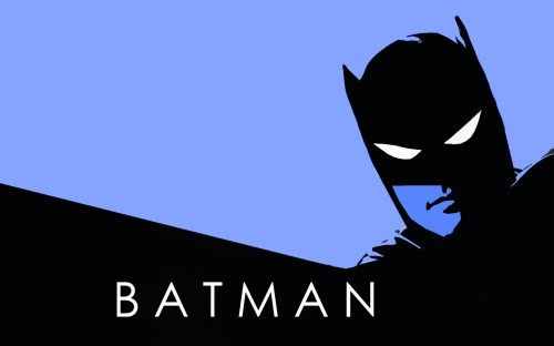 batman in blue