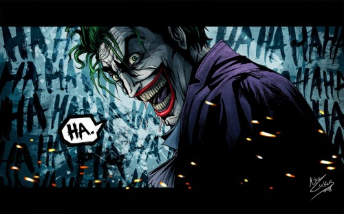 joker says ha
