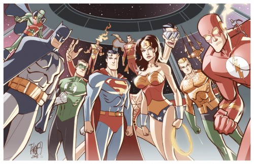 justice league – satillite