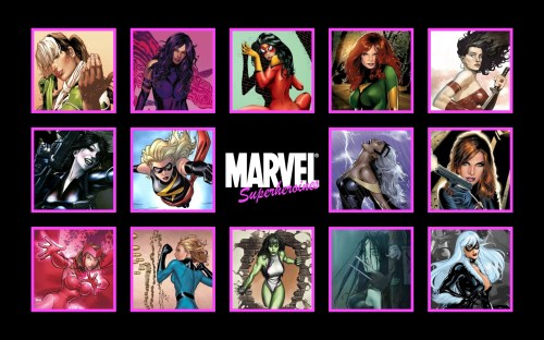marvel super heroines