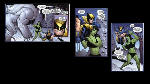 sasquatch vs wolverine and she hulk
