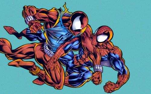 spider-man vs spider-clone