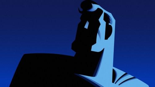 superman in shadow