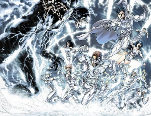 the white lanterns attack