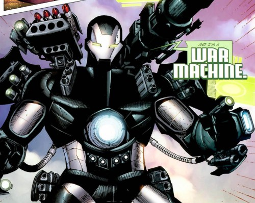 war machine introduces himself