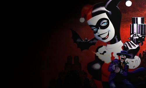 harley quinn, batman, joker